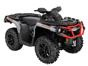 Can-Am Outlander XT 650 Brushed Aluminum / Can-Am Red 2018