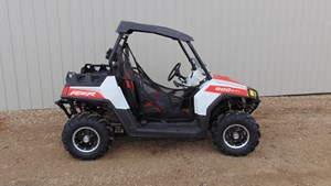 Polaris RZR 800 Orange and White 2012