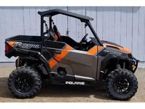Polaris General 1000 EPS Deluxe Titanium Metallic 2018