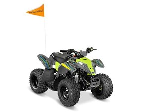 Polaris OUTLAW 50 AVALANCHE GREY/LIME SQUEEZE 2018