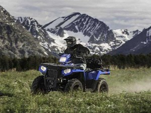 Polaris SPORTSMAN 570 SP RADAR BLUE / 26$/sem 2018