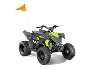 Polaris OUTLAW 110 EFI GREY/LIME 2018