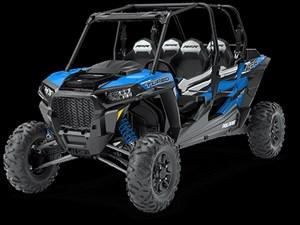 Polaris RZR XP 4 TURBO EPS VELOCITY BLUE / 66$/sem 2018