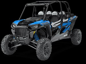 Polaris RZR XP 4 TURBO EPS VELOCITY BLUE / 71$/sem 2018