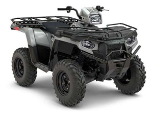 Polaris SPORTSMAN 450 HO UTILITY EDITION GHOST GRAY 2018