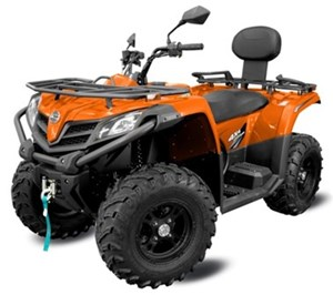 CFMOTO CFORCE 400 HO LX [EPS] - 2UP (ORANGE) 2018