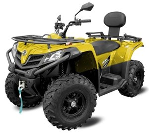 CFMOTO CFORCE 400 HO LX [EPS] - 2UP (YELLOW) 2018