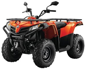 CFMOTO CFORCE 500 HO [EPS] - 1UP (ORANGE) 2018