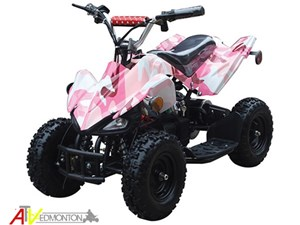 GIO MOTORS MANTERAY ATV (PINK CAMO) 2018
