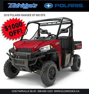Polaris Ranger XP® 900 EPS Solar Red 2018