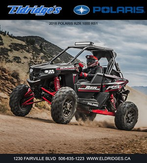 Polaris RZR® RS1 Black Pearl 2018