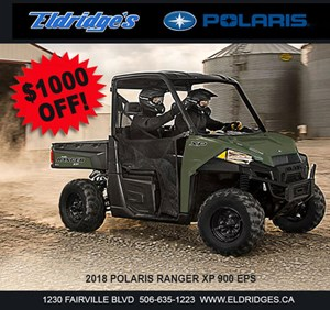 Polaris Ranger XP® 900 EPS Sage Green 2018