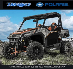 Polaris General™ 1000 EPS Deluxe Titanium Metall 2018