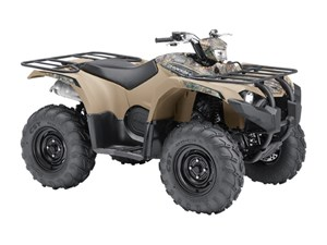 Yamaha Kodiak 450 EPS Beige with camo graphics 2018