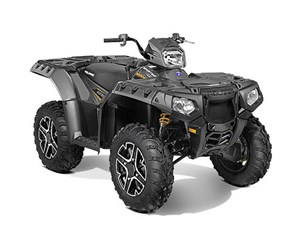 Polaris Sportsman® 850 SP EPS Titanium Matte Met 2015