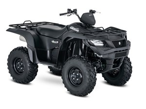 Suzuki KingQuad 750AXi Power Steering Matte Bla 2018