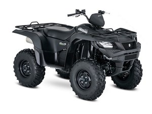 Suzuki KingQuad 500AXi Power Steering Matte Bla 2018