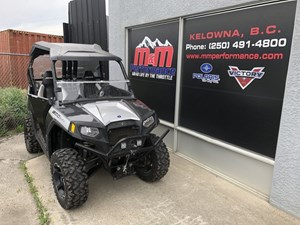 Polaris Ranger® RZR 800 Black/Liquid Silver LE 2012
