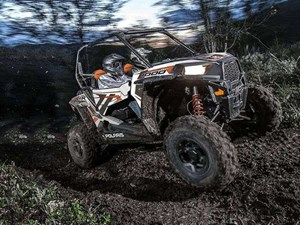 Polaris RZR S 1000 EPS WHITE LIGHTNING / 52$/sem 2018