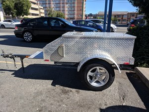 UBILT MOTORCYCLE TRAILER 2011