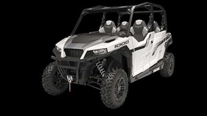 Polaris GENERAL 4 1000 EPS WHITE 2019