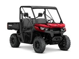 Can-Am Defender DPS™ HD8 Intense Red 2018