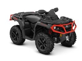 Can-Am Outlander™ XT™ 650 Black & Can-Am Red 2019