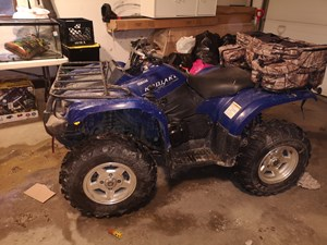 Yamaha Kodiak 400 independent suspension 2005