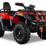 2020 HISUN TACTIC 550 EPS 2-UP RED