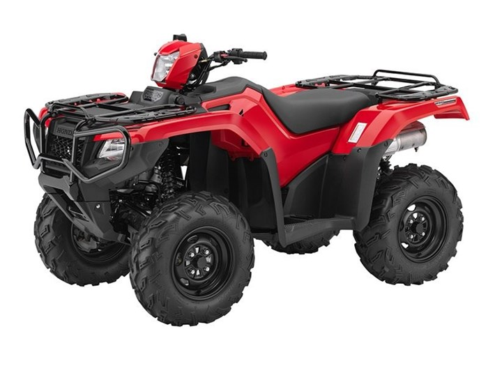 2017 Honda FourTrax Foreman Rubicon 4x4 EPS Red (TRX500FM6) Photo 1 of 1