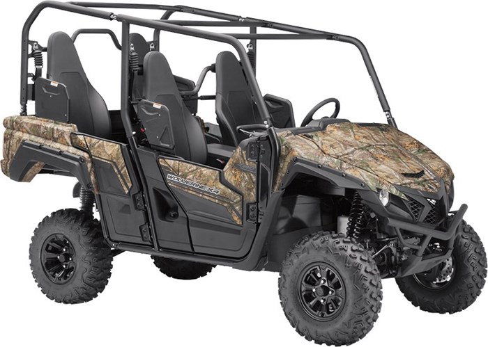2018 Yamaha Wolverine X4 Camo Photo 1 of 4