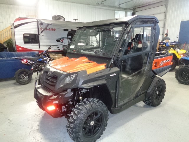 2018 CFMOTO UFORCE 500 HO WITH HEATED CAB Photo 1 of 16