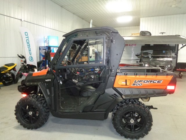 2018 CFMOTO UFORCE 500 HO WITH HEATED CAB Photo 2 of 16