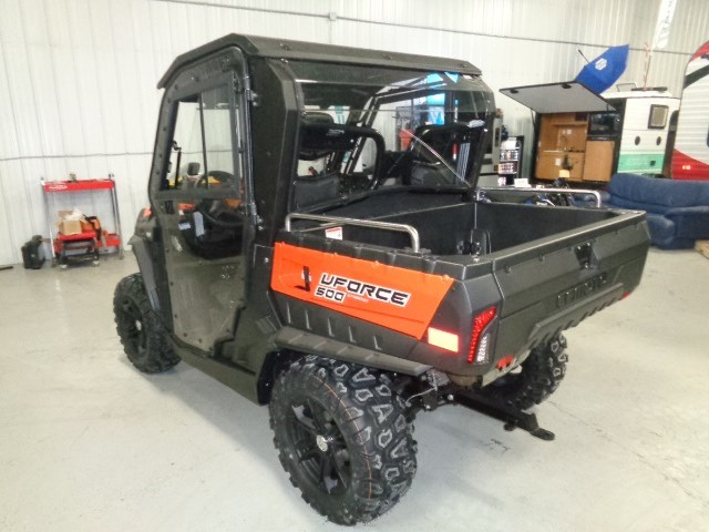 2018 CFMOTO UFORCE 500 HO WITH HEATED CAB Photo 3 of 16