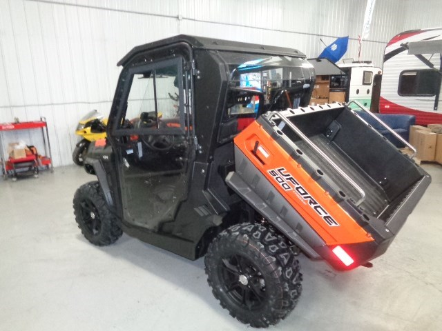2018 CFMOTO UFORCE 500 HO WITH HEATED CAB Photo 4 of 16