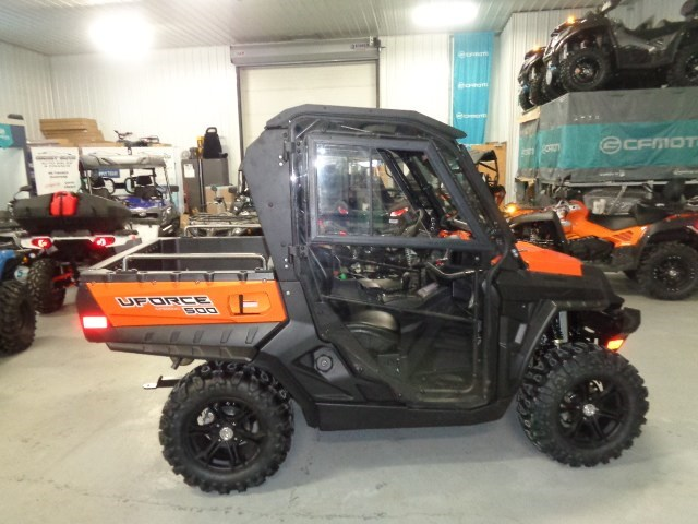 2018 CFMOTO UFORCE 500 HO WITH HEATED CAB Photo 7 of 16