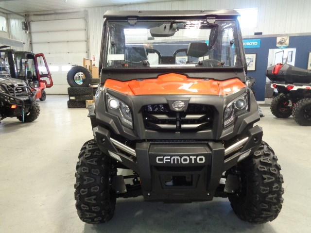 2018 CFMOTO UFORCE 500 HO WITH HEATED CAB Photo 9 of 16