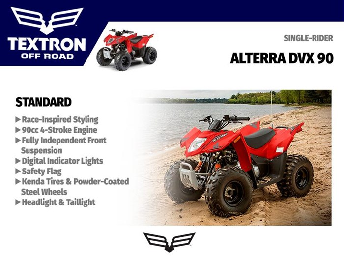 2018 Textron Off Road Alterra DVX 90 Photo 3 of 3