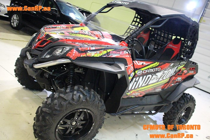 2015 CFMOTO (DEMO) ZFORCE 800CC EX  (CUSTOM BUILT) Photo 1 of 17