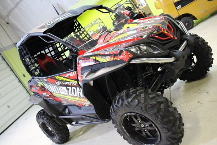 2015 CFMOTO (DEMO) ZFORCE 800CC EX  (CUSTOM BUILT) Photo 14 of 17