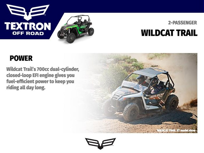 2018 Textron Off Road Wildcat Trail Photo 3 of 4