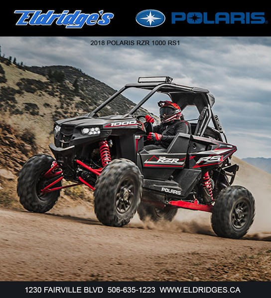 2018 Polaris RZR® RS1 Black Pearl Photo 2 of 6