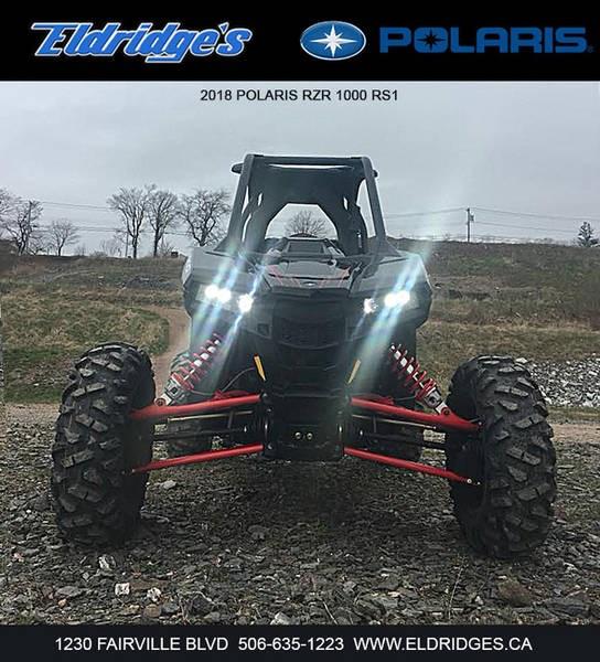 2018 Polaris RZR® RS1 Black Pearl Photo 4 of 6