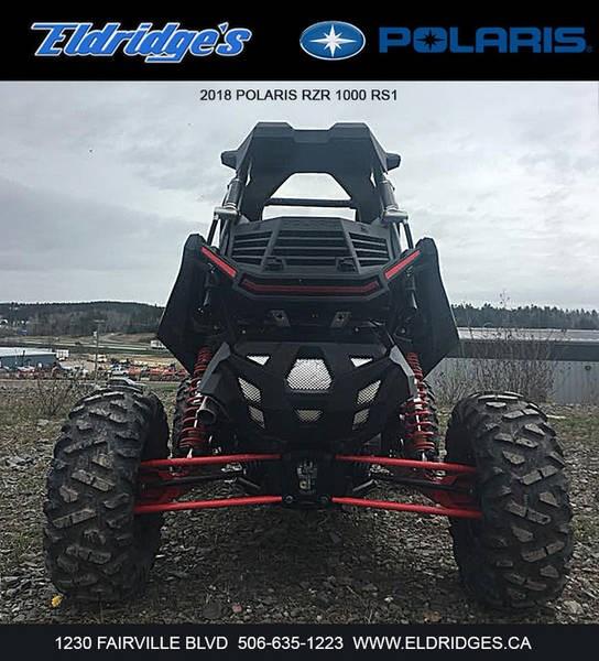 2018 Polaris RZR® RS1 Black Pearl Photo 5 of 6