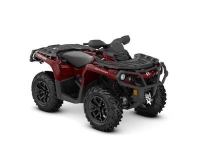 2018 Can-Am Outlander™ XT™ 650 Intense Red Photo 1 of 1