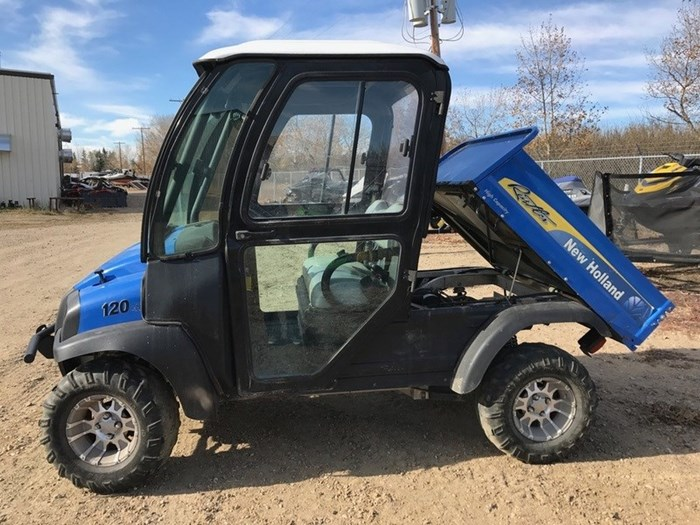 2015 New Holland 120 UV Diesel - 2 or 4-person Photo 1 of 4