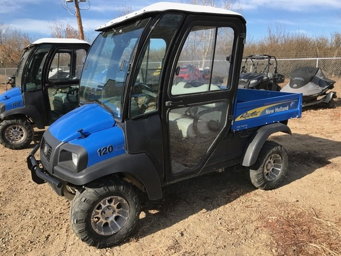 2015 New Holland 120 UV Diesel - 2 or 4-person Photo 2 of 4