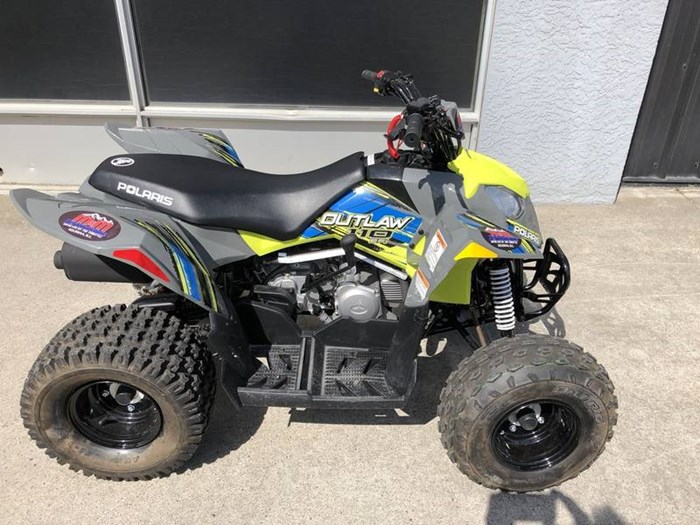 2017 Polaris Outlaw® 110 Lime Squeeze Photo 3 of 5