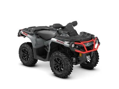 2018 Can-Am Outlander™ XT™ 650 Brushed Aluminum & Can-Am Red Photo 1 of 1