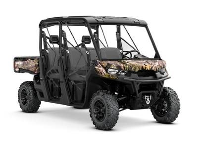 2018 Can-Am Defender MAX XT™ HD8 Mossy Oak Break-Up Country Ca Photo 1 of 1
